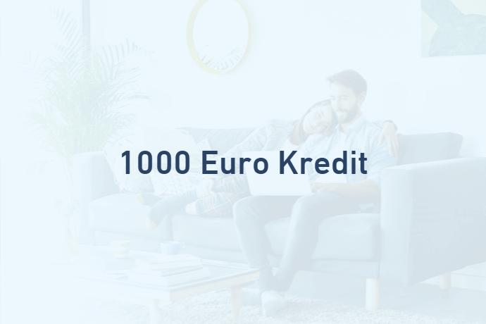 1000 Euro Kredit von Credimaxx