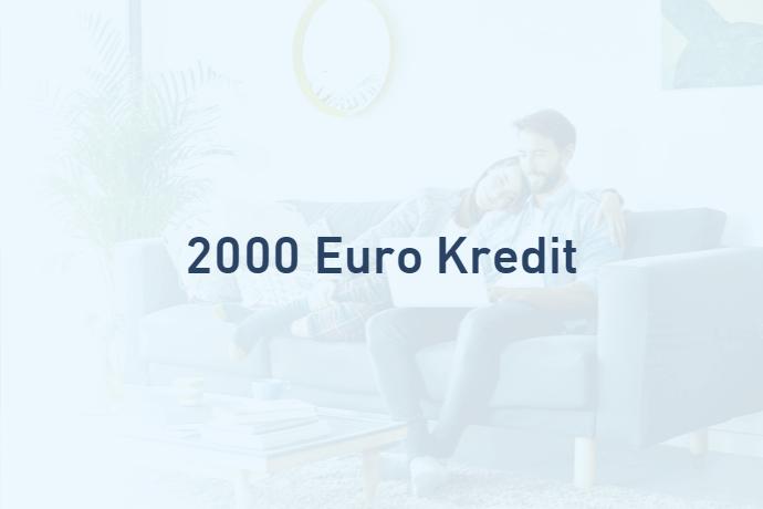 2000 Euro Kredit von Credimaxx