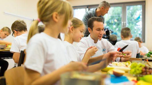 Die gesunde Frühstücksbox in Gera an der Erich-Kästner-Grundschule