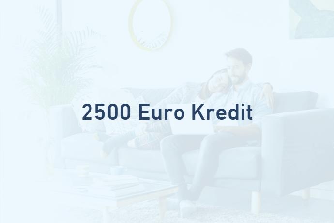 2500 Euro Kredit von Credimaxx
