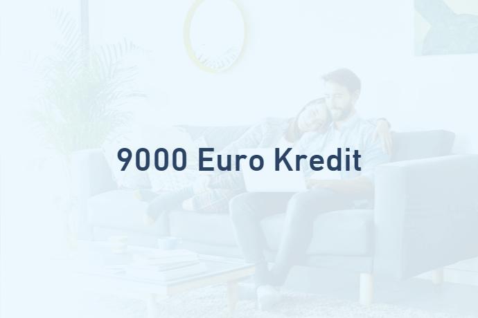 9000 Euro Kredit von Credimaxx