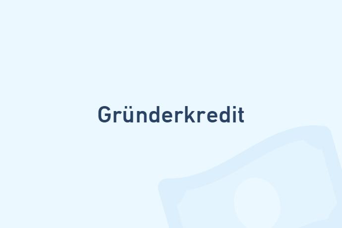 Gründerkredit