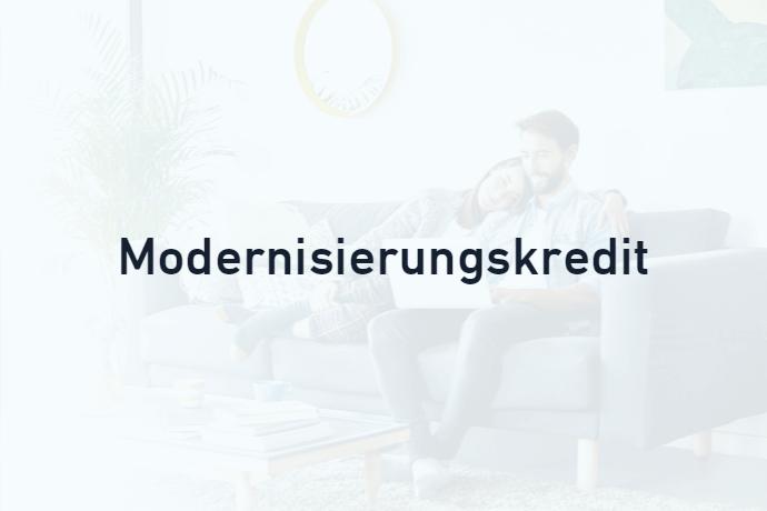 Modernisierungskredit von Credimaxx