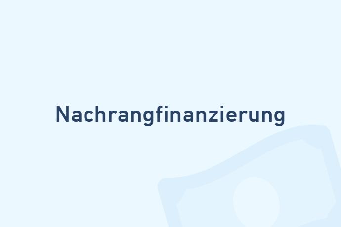 Nachrangfinanzierung