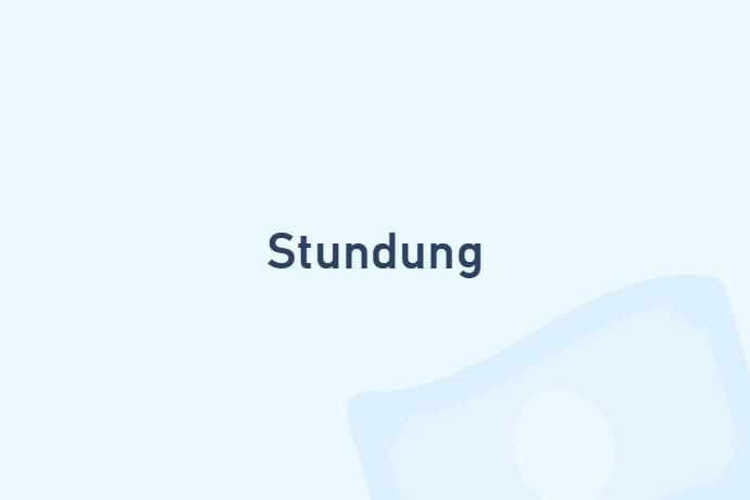 Stundung