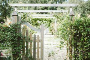 Kredit für Gartengestaltung und Garten