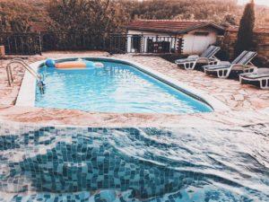 Kredit für einen Swimmingpool oder Schwimmteich